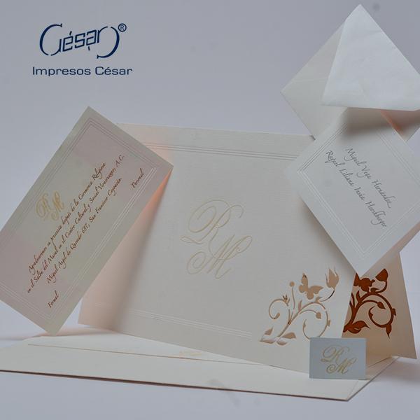 Impresión de invitaciones | Imprenta en Ciudad de México | Impresos César | impresoscesar.com