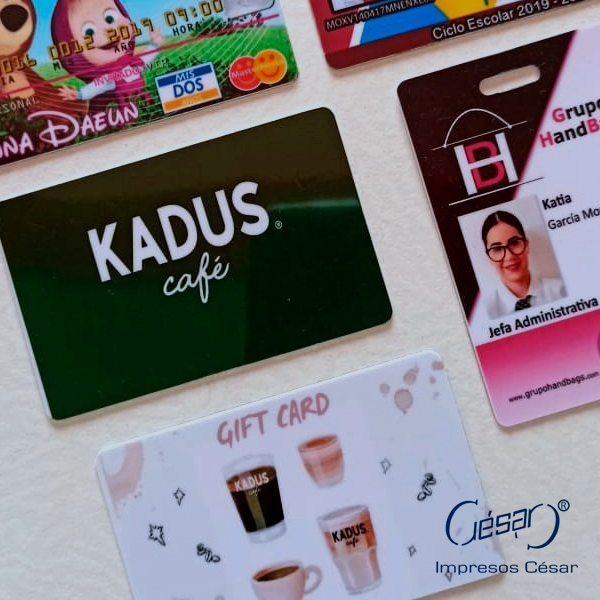 Impresión de credenciales | Imprenta en Ciudad de México | Impresos César | impresoscesar.com