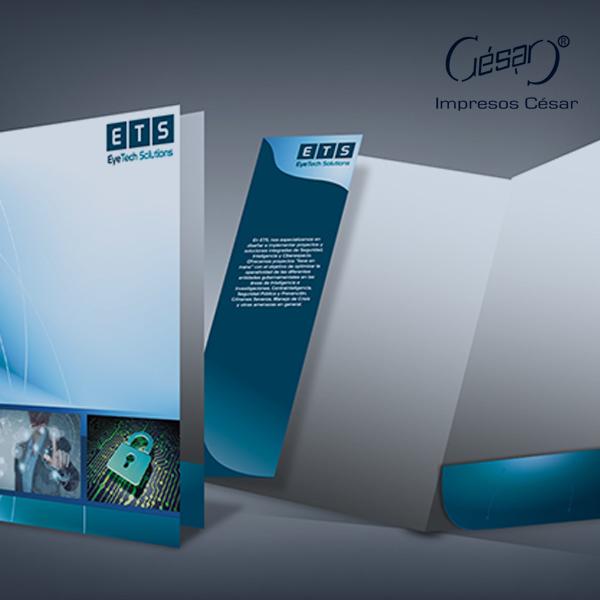 Folders y carpetas personalizadas | Imprenta en Ciudad de México | Impresos César | impresoscesar.com