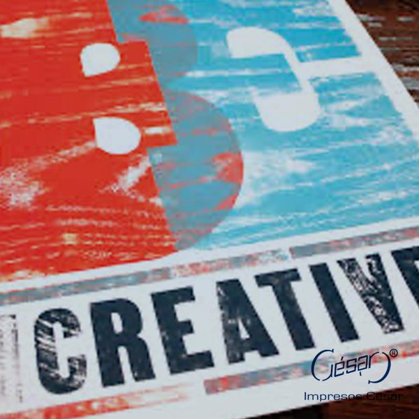 Impresión de pósters y flyers| Imprenta en Ciudad de México | Impresos César | impresoscesar.com