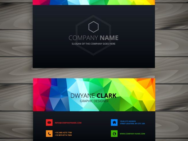 La tarjeta de presentación como parte de la identidad corporativa